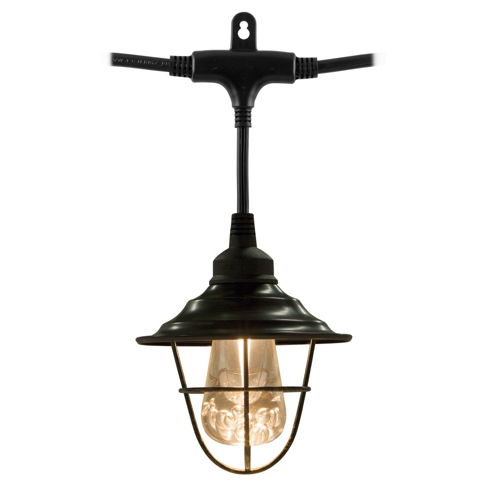 Image of 6pk Outdoor Shade - Oil Rubbed Bronze - Enbrighten