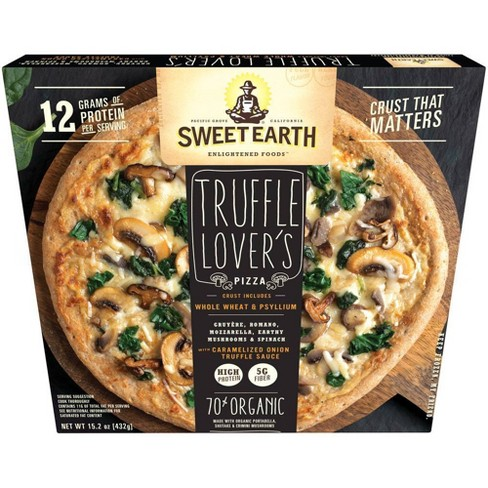 Sweet Earth Natural Truffle Lovers Frozen Pizza - 15oz - image 1 of 4