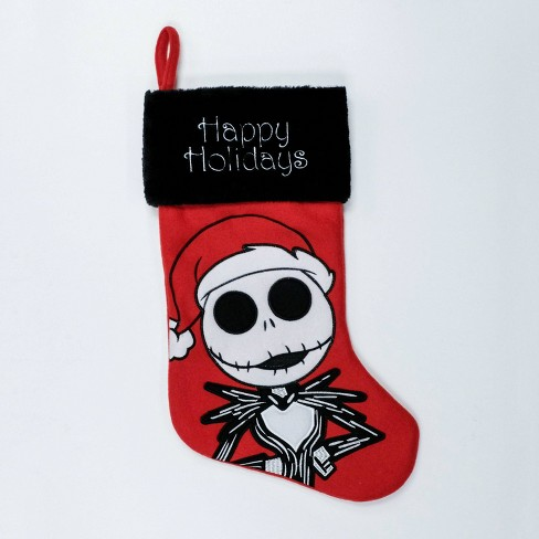 Jack Skellington Christmas.Disney Nightmare Before Christmas Jack Skellington Christmas Stocking