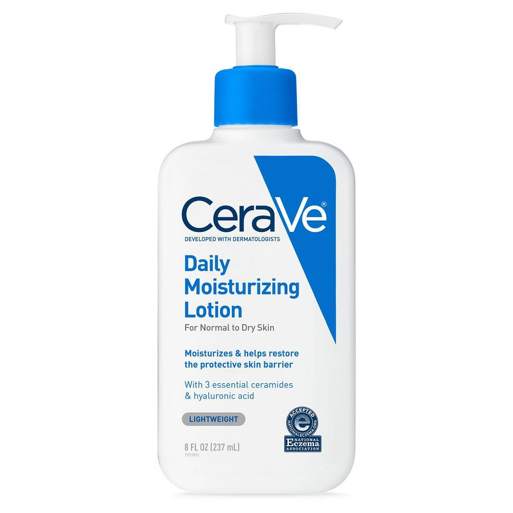 Image of CeraVe Daily Moisturizing Lotion for Normal to Dry Skin- 8oz