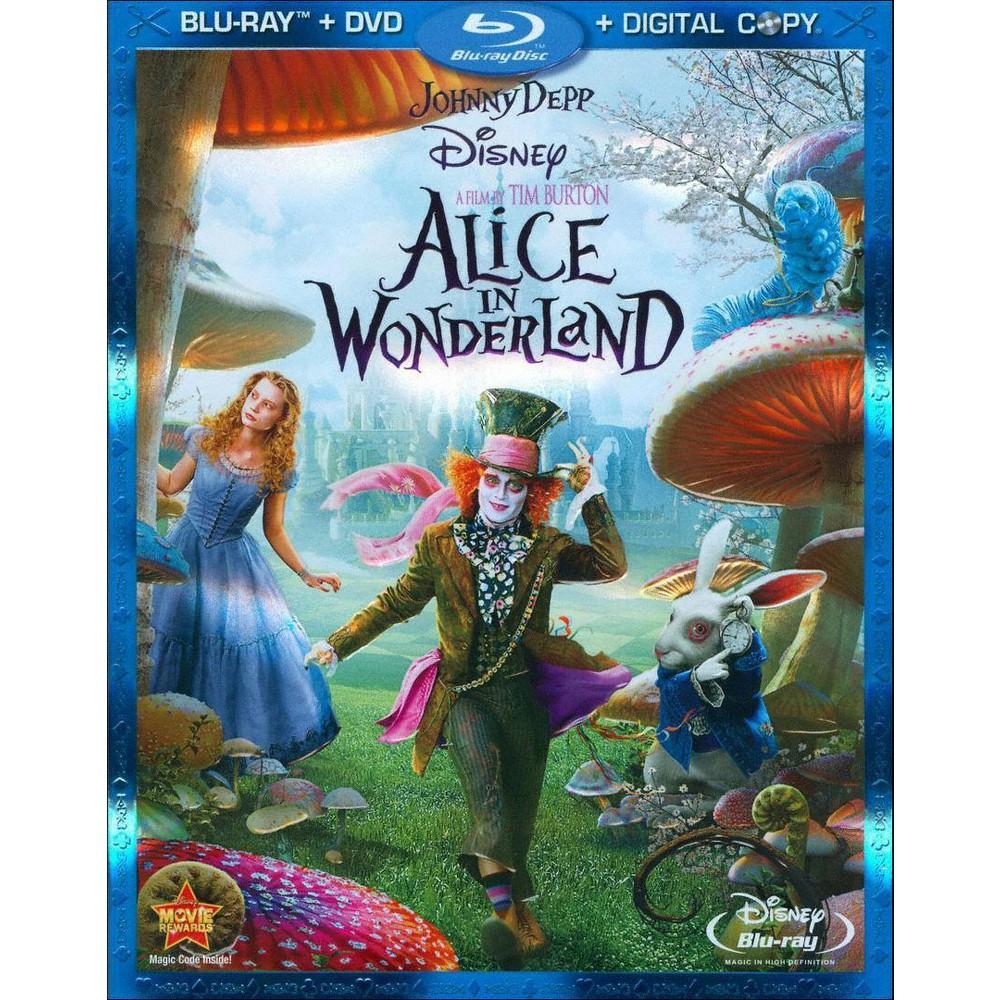 Alice in Wonderland (3 Discs) (Includes Digital Copy) (Blu-ray/Dvd)