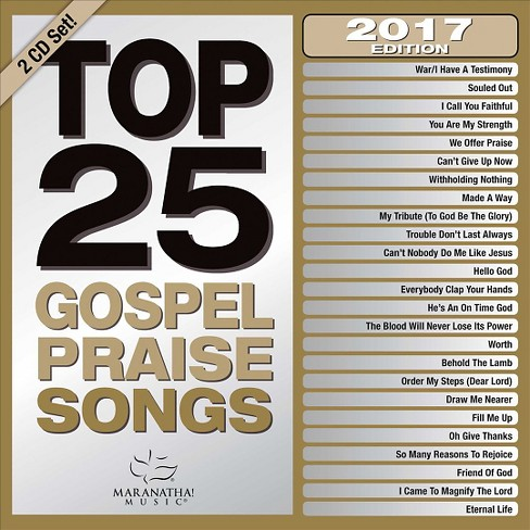 Maranatha Music - Top 25 Gospel Praise Songs 2017 (CD) - image 1 of 1