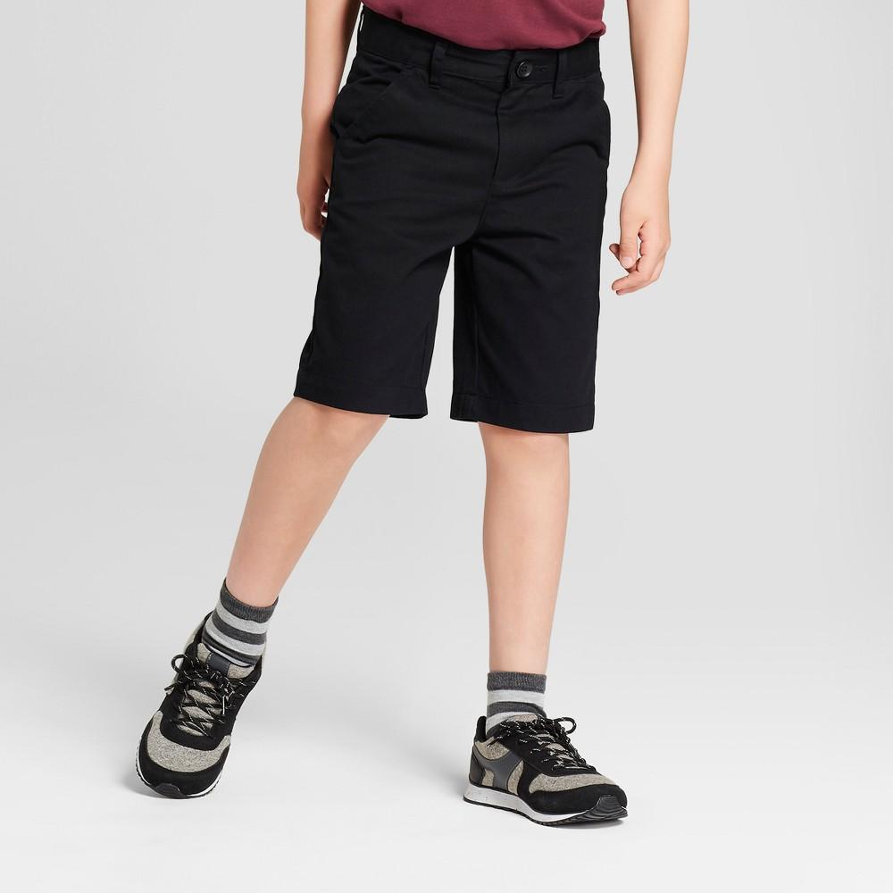 Boys' Chino Uniform Shorts - Cat & Jack Black 4