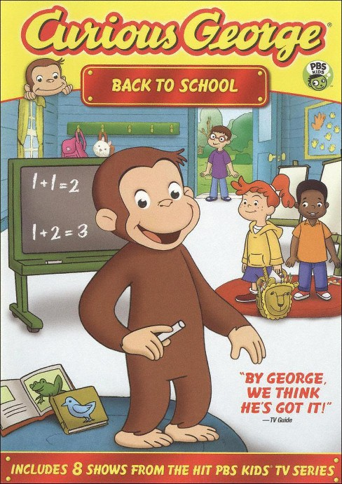 Curious George: Back to School (dvd_video) - image 1 of 1