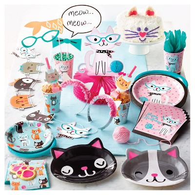Cat Party Birthday Supplies Collection Target