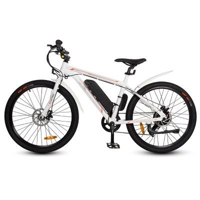 "Ecotric Vortex 26"" Electric Road Bike - White"