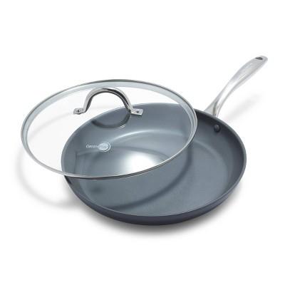 "GreenPan Madison 12"" Ceramic Non-Stick Frypan with Lid"