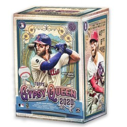 2020 MLB Gypsy Queen Baseball Trading Card Blaster Box
