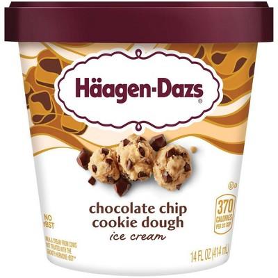 Haagen-Dazs Chocolate Chip Cookie Dough Ice Cream - 14oz