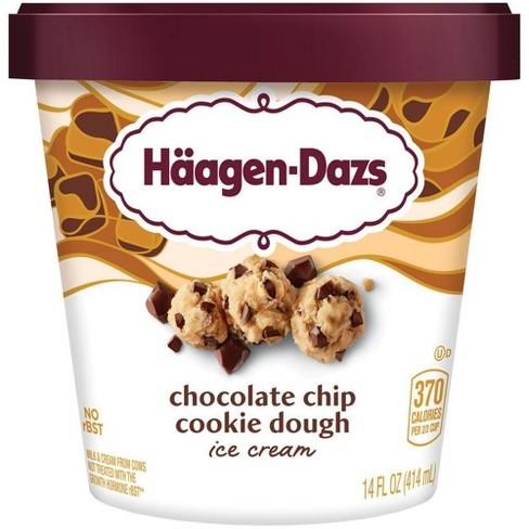 Haagen-Dazs Chocolate Chip Cookie Dough Ice Cream - 14oz - image 1 of 4
