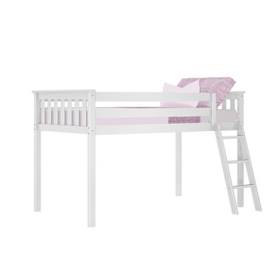 Max & Lily Twin Low Loft Bed