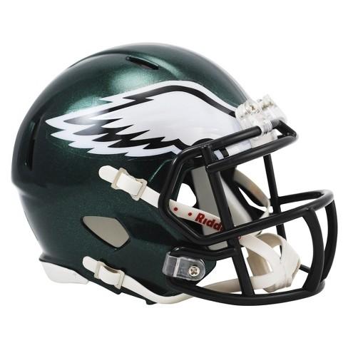 48d1b85e4 Philadelphia Eagles Riddell Speed Mini Helmet - Green   Target