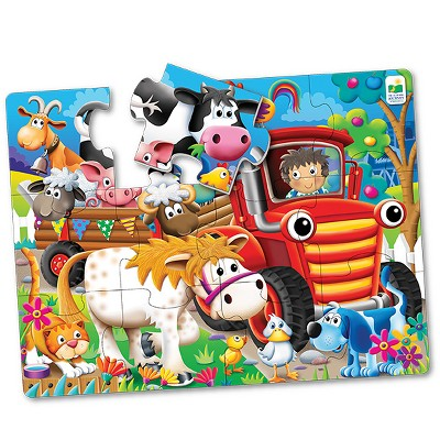 The Learning Journey My First Big Floor Puzzle, 12pc - Farm Friends