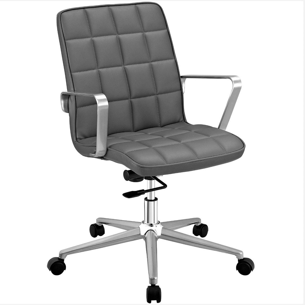 Tile Office Chair Gray - Modway