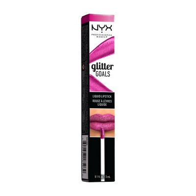 Nyx Professional Makeup Glitter Goals Liquid Lipstick Shimmy by Shop Collections