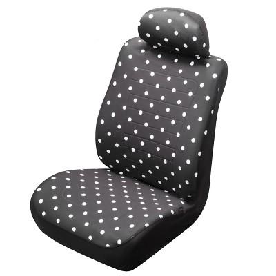 Type S Reversible Dot/Black Seat Cover - 2pk