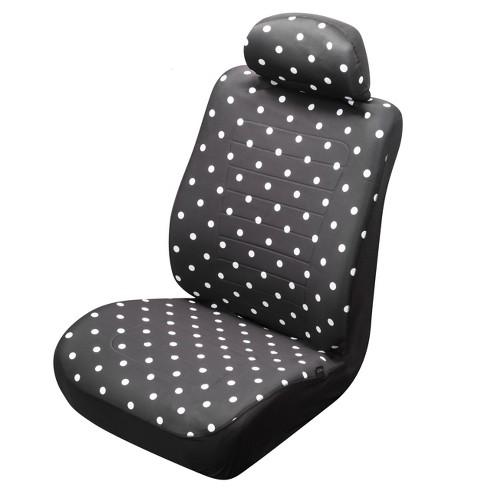 Type S Reversible Dot Black Seat Cover