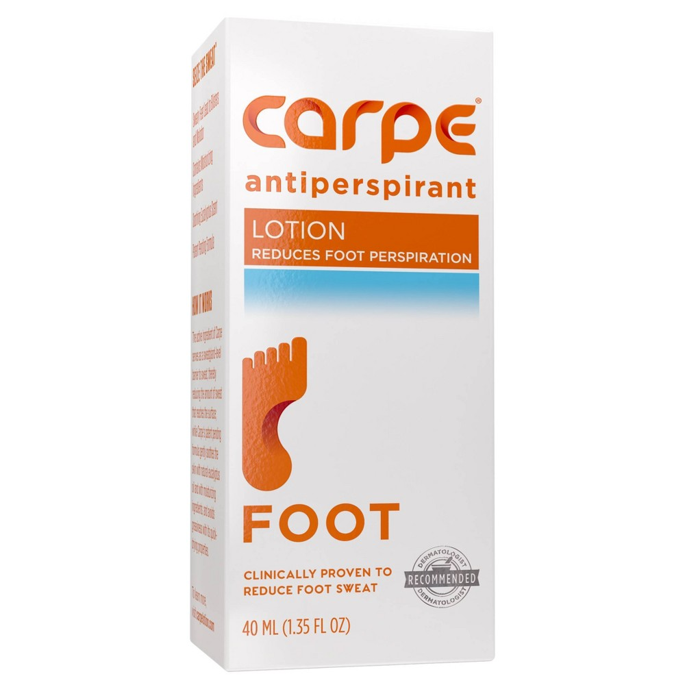 Image of Carpe Antiperspirant Foot Lotion - 1.35 fl oz
