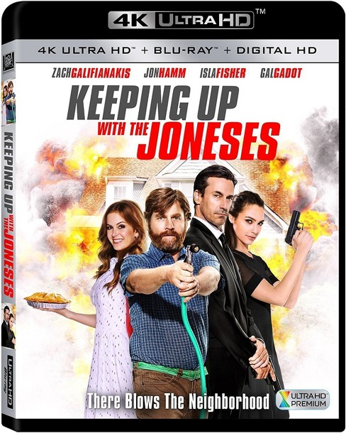 Keeping Up with the Joneses (4K/UHD) - image 1 of 1
