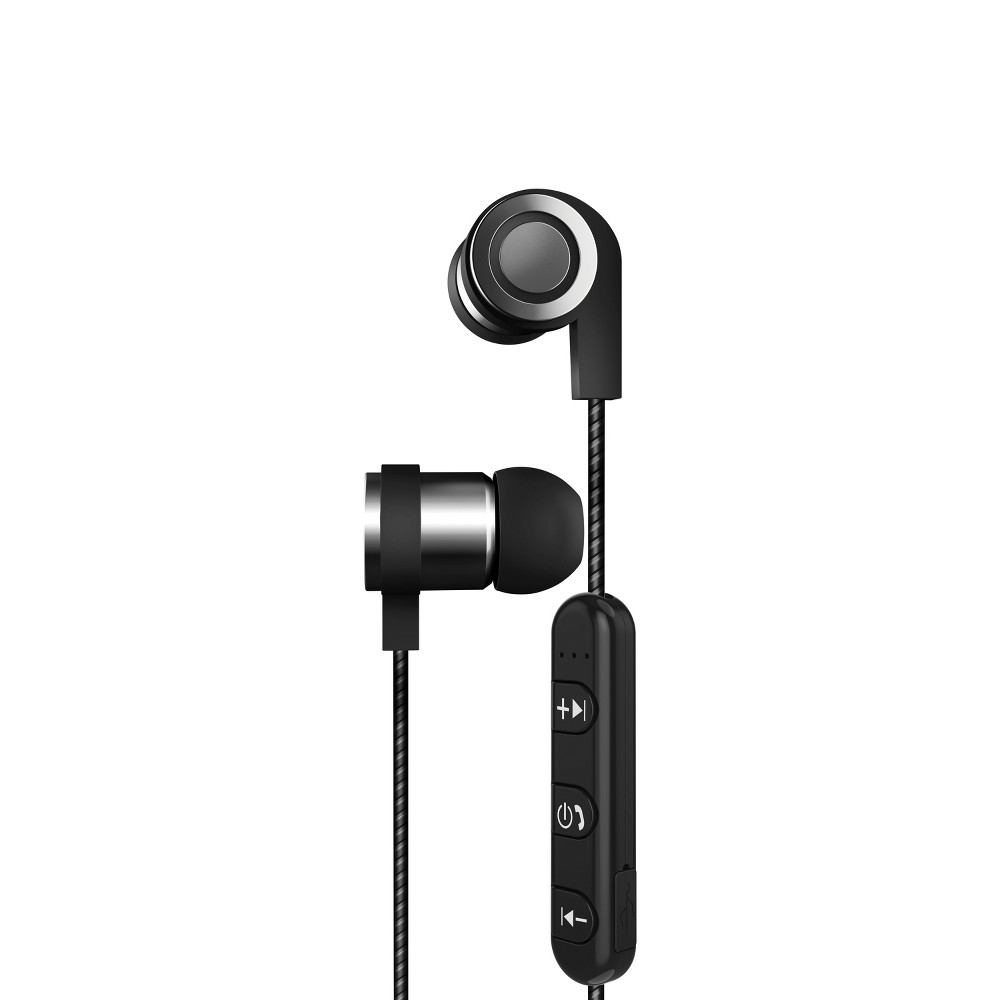 Sharper Image Active Fit Wireless Earbuds - Black (SBT538BK) Stay connected to your device with no wires or plugs. The Premium Sound Wireless Earbuds by Sharper Image deliver all audio - music, videos, and calls - in high-definition stereo. The rechargeable and lightweight earbuds pair seamlessly to Bluetooth smartphones, laptops, tablets, and MP3 players. Tap the in-line microphone to accept and reject calls, adjust volume, or backtrack and skip songs in a playlist. After a long day of use, connect the earbuds to the included charger to get them ready for the next day. Also included: micro-Usb charging cable, extra eartips, user guide Color: Black. Age Group: Adult.