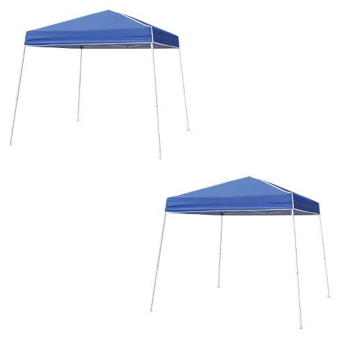cheap for discount 381f4 f1c94 Z-Shade 12'x12' Horizon Instant Pop Up Shade Canopy Tent Shelter, Blue (2  Pack)
