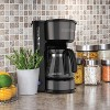 BLACK+DECKER 5 Cup 4-in-1 Station Coffeemaker – Black Stainless Steel CM0750BS - image 4 of 4