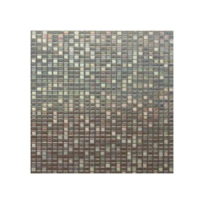RoomMates Large Mosaic Window Film Brown