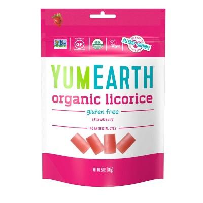YumEarth Organic Strawberry Licorice - 5.0oz