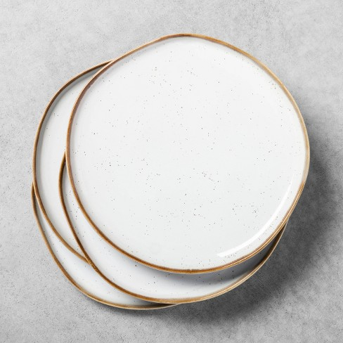 Stoneware Reactive Glaze Dinner Plate - Hearth & Hand™ with Magnolia - image 1 of 4