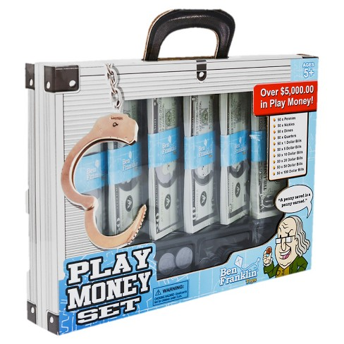 Ben Franklin Play Money Set - image 1 of 2