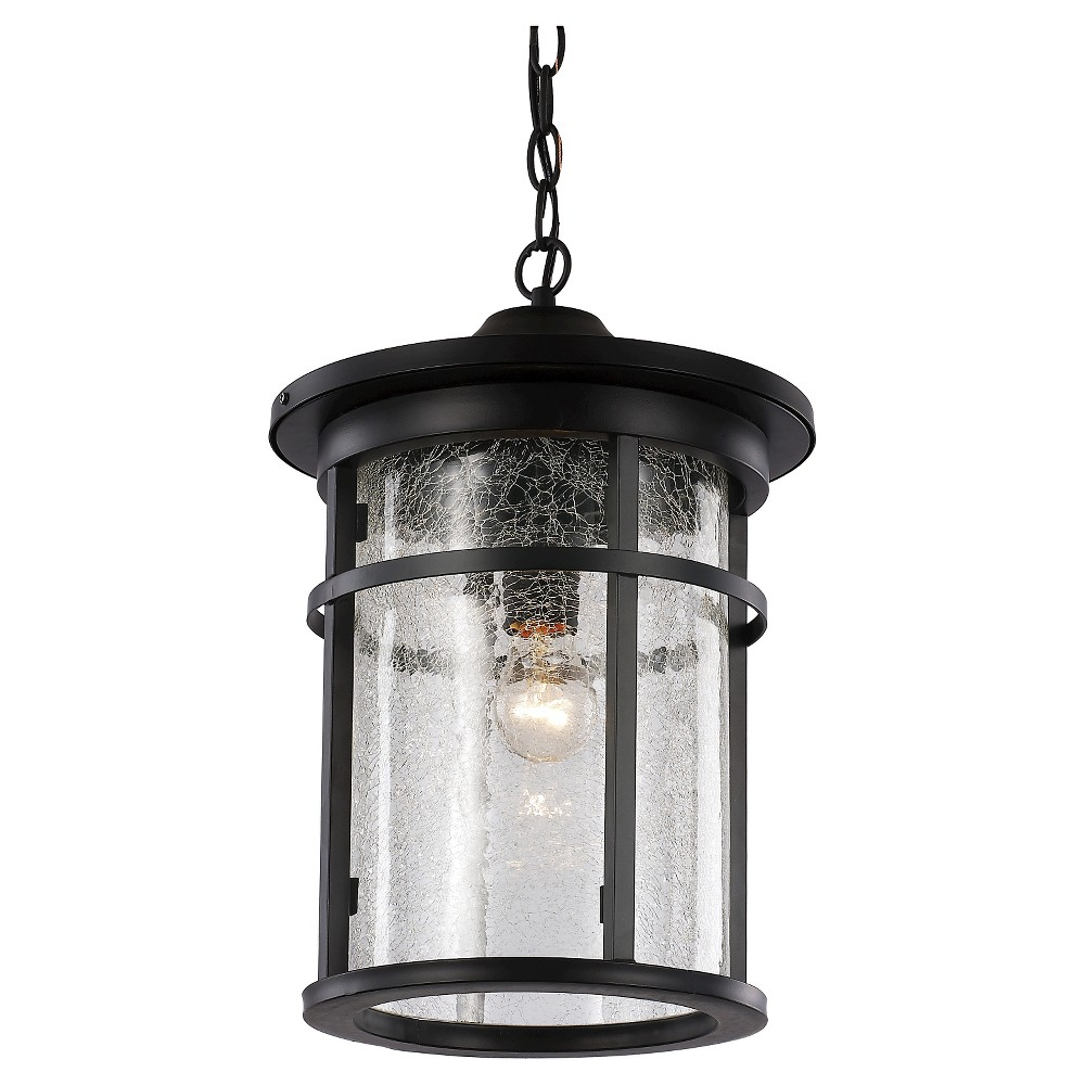 Image of Bel Air Lighting Outdoor Hanging Pendant Black