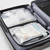2pc Clear Packing Cube Set - Made By Design™ - image 3 of 4
