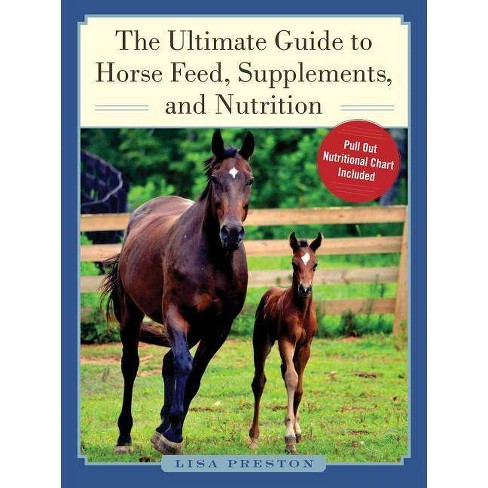 The Ultimate Guide to Horse Feed, Supplements, and Nutrition - by  Lisa Preston (Hardcover) - image 1 of 1