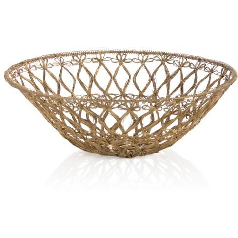 Large Felicity Basket Bowl - Shiraleah - image 1 of 1