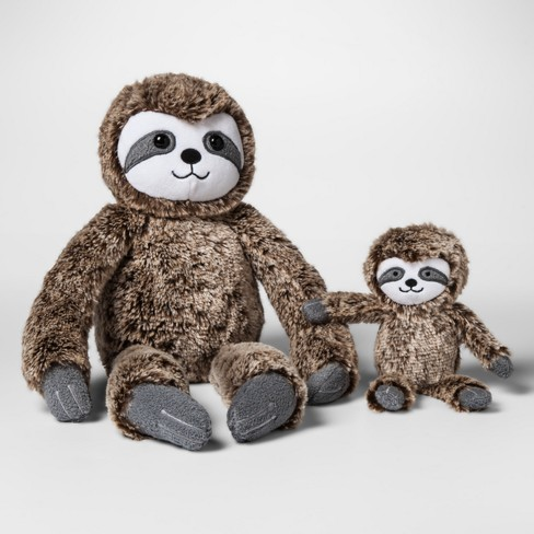 Plush with Rattle Sloth - Cloud Island™ Brown - image 1 of 1