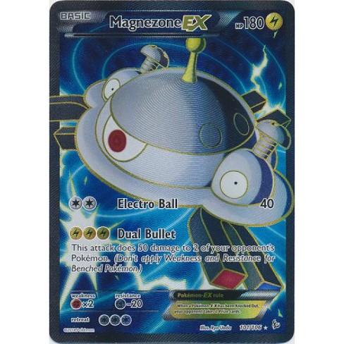 Pokemon X and Y Flashfire Ultra Rare Holo Full Art Magnezone EX #101 - image 1 of 1