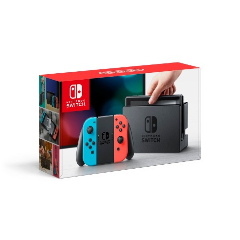 Nintendo Switch with Neon Blue and Neon Red Joy-Con (Discontinued by Manufacturer) - image 1 of 4
