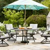 Chester Aluminum Round Patio Dining Table - Threshold™ - image 4 of 4