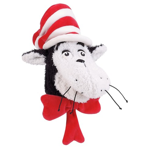 Manhattan Toy Dr. Seuss Cat in The Hat Hand Puppet Plush Toy - image 1 of 2