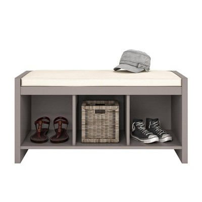 Hendland Entryway Storage Bench with Cushion - Room & Joy