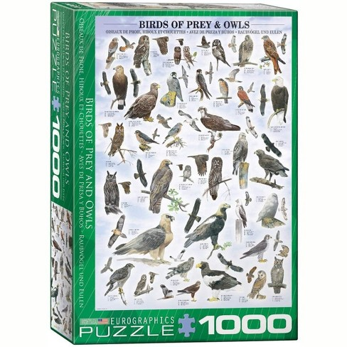 Eurographics Inc. Birds of Prey and Owls 1000 Piece Jigsaw Puzzle - image 1 of 4