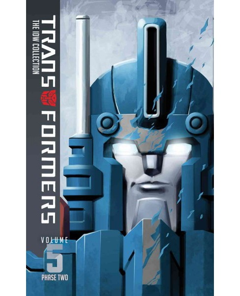 Transformers Idw Collection Phase Two 5 (Hardcover) (Chris Metzen & Flint Dille & John Barber & James - image 1 of 1