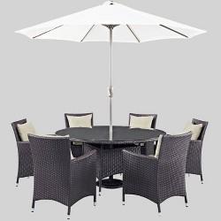 Convene 8pc Outdoor Patio Dining Set - Modway