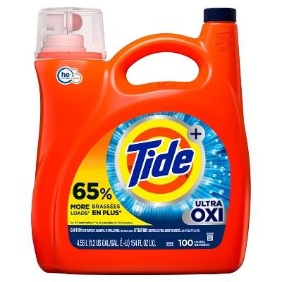 Tide Plus Ultra Oxi Liquid Laundry Detergent
