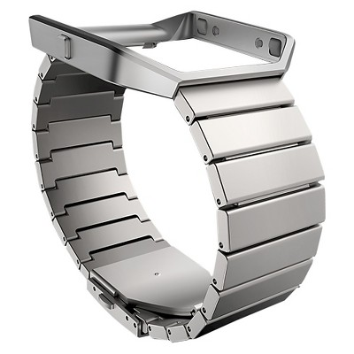 Fitbit® Blaze Accessory Band Metal Link One Size - Silver