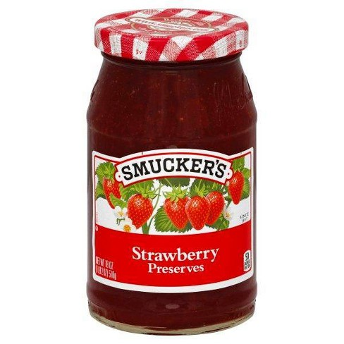 Smucker's Strawberry Preserves - 18oz - image 1 of 4