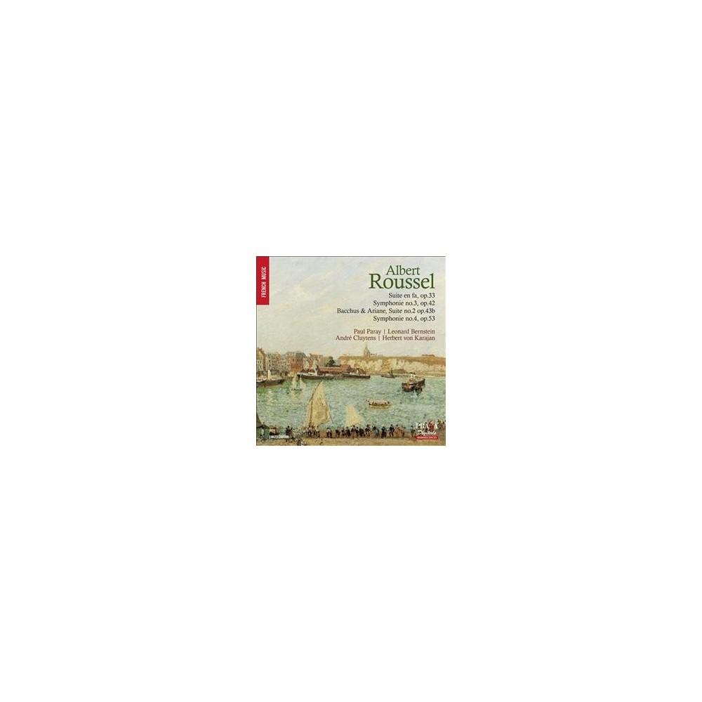 Various - Roussel:Symphonies Nos 3 & 4/Suites (CD)