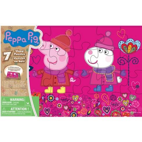 Cardinal Peppa Pig 7pk Wood Puzzle - 108pc - image 1 of 1