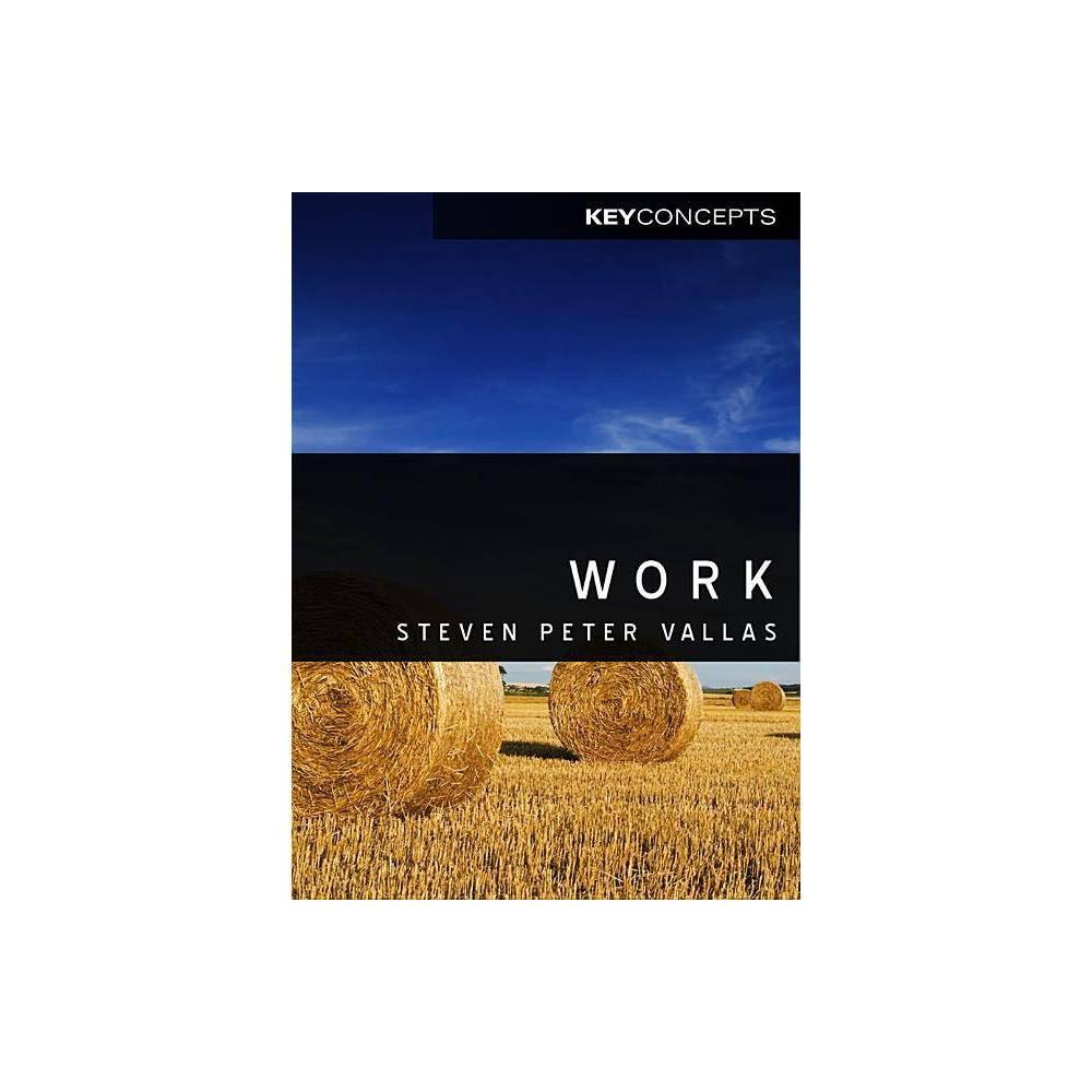 Work Key Concepts Paperback By Steven Vallas Paperback
