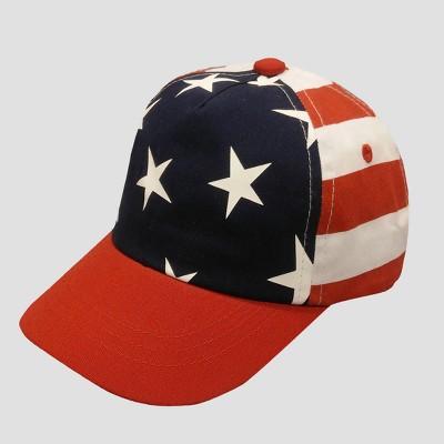 Baby Boys' Flag Baseball Hat - Cat & Jack™ 12-24M